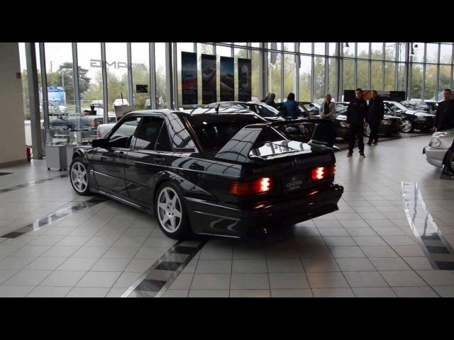 Mercedes 190E 2.5-16 EVOLUTION II - Cold Start Sound [HD]