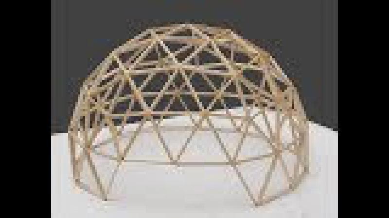 Как сделать геокупол | Геодезический купол своими руками
