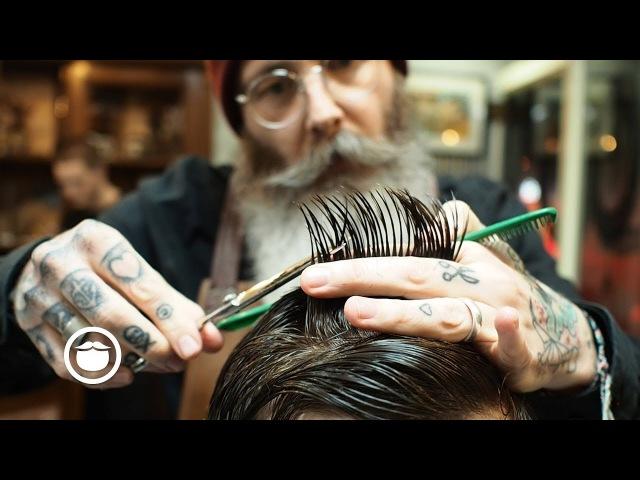 Scissor Cut Short Back and Sides Men's Haircut