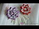 Нарядные резиночки из лент 4 Elegant bands of ribbon