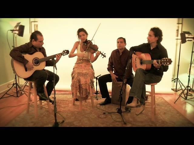 Spanish Guitar Duo with Violin Cajon