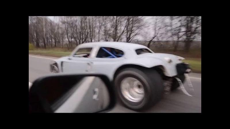 Бэтмобиль ZAZ GTR
