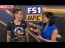 Кристина Сайборг интервью после победы над Куницкой на UFC 222