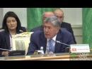 Атамбаев пригласил Назарбаева отдохнуть на берегу Иссык Куля