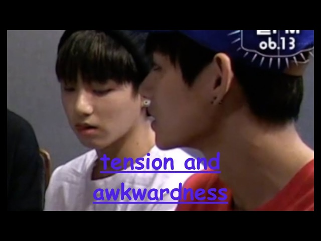 Tension and awkwardness *taekook/vkook pt1