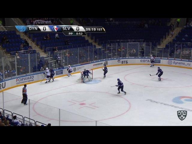 Моменты из матчей КХЛ сезона 16/17 • Удаление. Томми Тайми (Слован) получил 210 минут 27.08