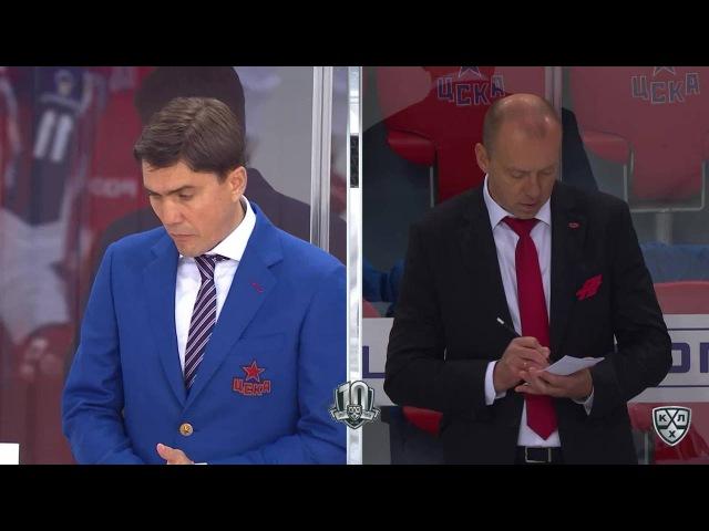Моменты из матчей КХЛ сезона 16/17 • Интересный момент. Накала матча не выдерживают даже стёкла 01.09