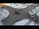 ДТП на перекрестке ул. Разина - Ленинградская 27.11.2017 #Бийск