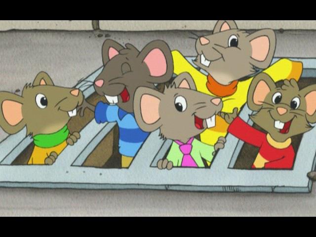 The Town Mouse and the Country Mouse - Городская мышка и деревенская мышка