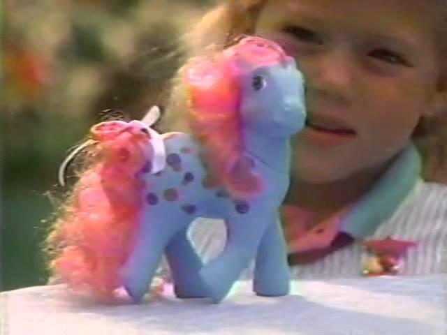 80's Ads My Little Pony Twice As Fancy Pony 1986