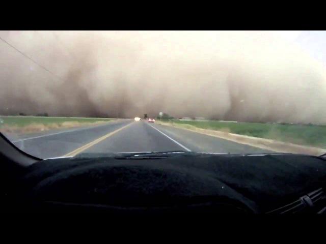 Песчаная буря хабуб