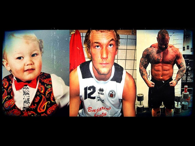 Hafthor Björnsson - Transformation From 1 To 29 years