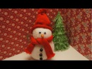DIY SNOWMAN | Very Easy | How to Make | TCRAFT