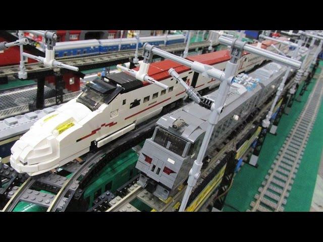 BRICKLIVE 2017 in Kitakyushu Japan Lego Train