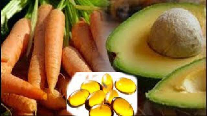 Solo busca, 1 zanahoria, 1 aguacate y 1 capsula de vitamina E La magia pasará 20 minutos después