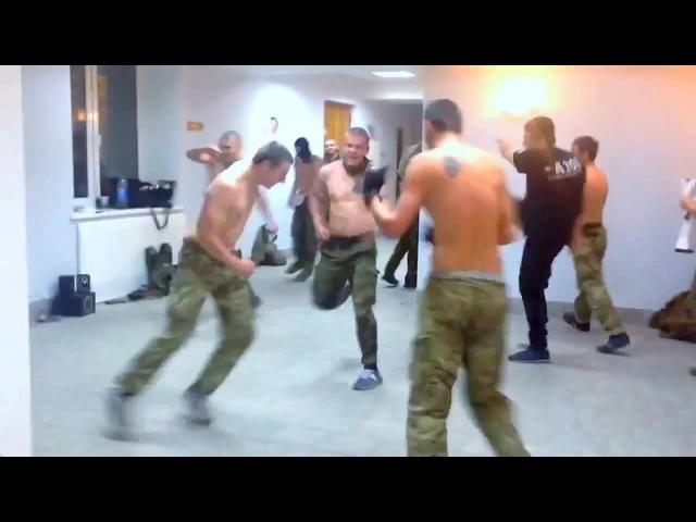 Пасадобль с зигами в исполнении батальона Азов