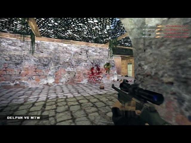 Trace vs Delpan by HUd [Counter Strike 1.6]