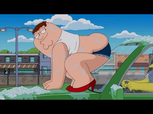 Гриффины и Симпсоны - автомойка | Family Guy and The Simpsons - carwash
