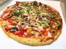 ВКУСНЕЙШИЙ УЖИН для всей семьи Пицца на Курином Тесте без муки. Конкурс. Pizza Withou...