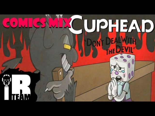 King Dice Story Cuphead Comic Rus Dub