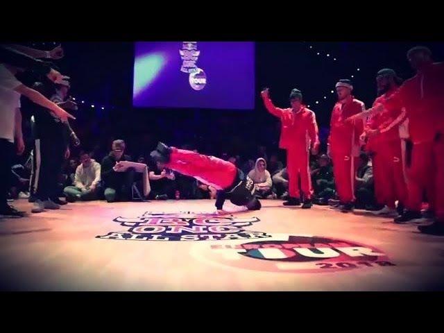 The Red Bull BC One All Stars vs. Dream Team France 2018