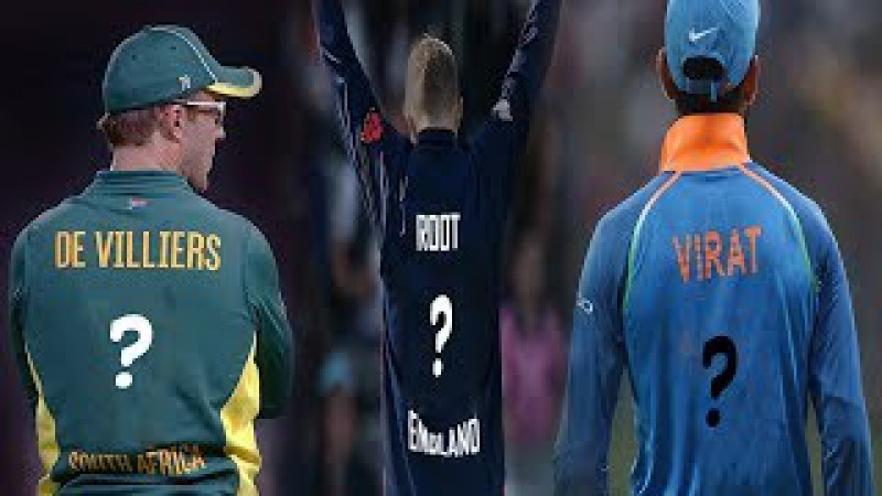 Top Cricketer Can You Guess Their Shirt Jersey Number part 1  » онлайн видео ролик на XXL Порно онлайн