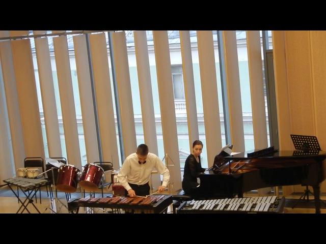 Тимофей Матвеев - Марта Пташинска «Скерцо» для ксилофона с фортепиано