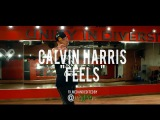 Calvin Harris - Feels (Dance Video) ft. Pharrell Williams, Katy Perry, Big Sean