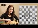 Конь против слона в партии Анна Вртякова - Евгений Шувалов. Французская защита. Вариант Тарраша