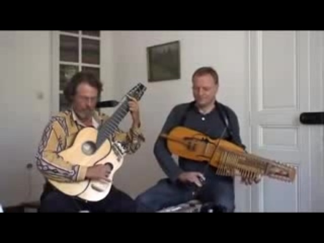 BARDOU-The Alchemists Dance nyckelharpa and arch-harp guitar