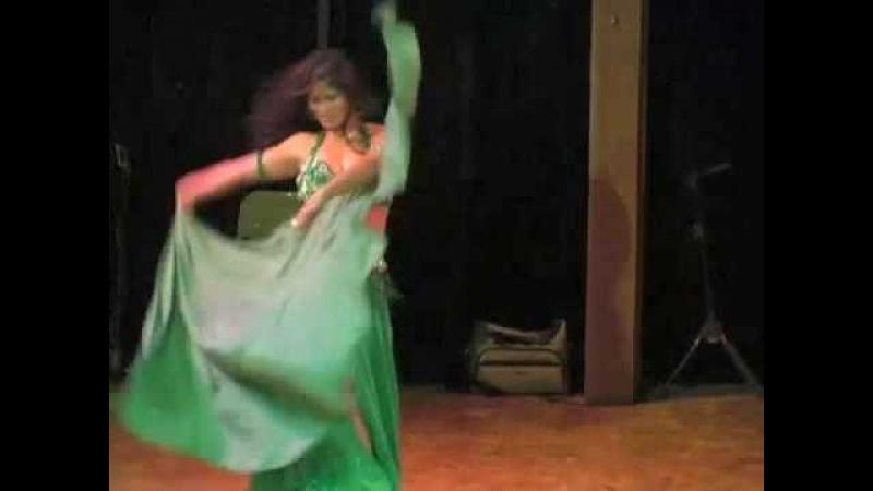 Claudia Belly Dance - SARC Benefit - Portland Oregon