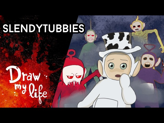 SLENDYTUBBIES los TELETUBBIES más RAROS Draw My Life