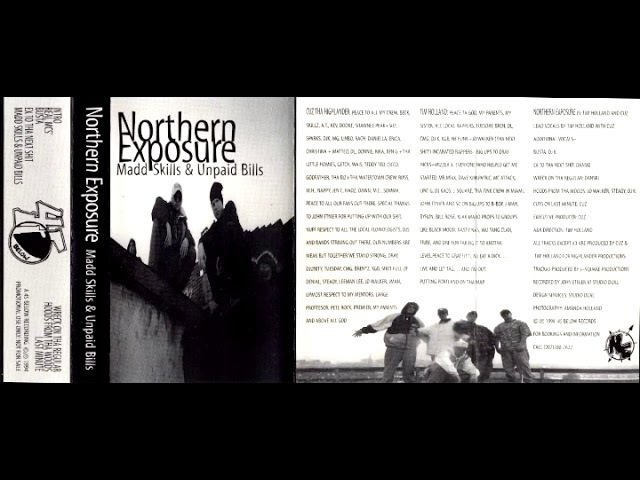 Northern Exposure - Madd Skills Unpaid Bills (1994 / EP / Hip Hop)