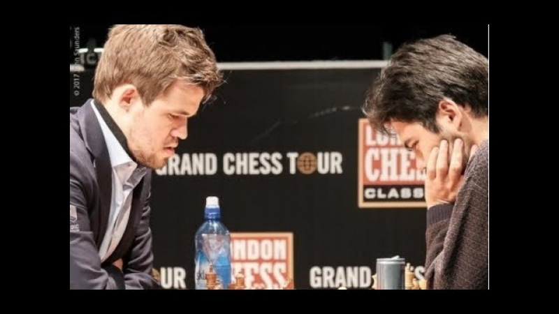 CARLSEN Survives NAKAMURA SCARE - London CHESS Classic 2017 Round 6