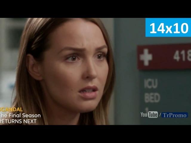 Анатомия страсти 14 сезон 10 серия - Русское Промо (Субтитры, 2018) Grey's Anatomy 14x10 Promo