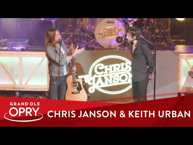 Chris Janson is Invited by Keith Urban to be Next Member of the Grand Ole Opry Opry