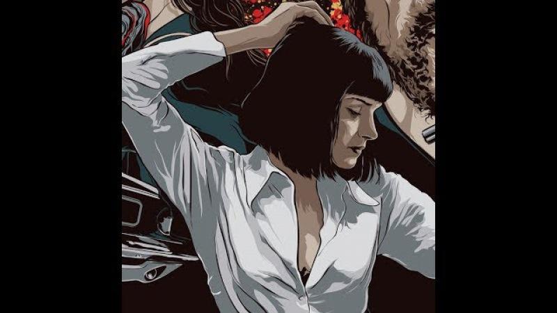Girl You'll Be A Woman Pulp Fiction Extended Alternative Video HD Thurman Travolta