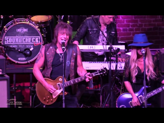 RICHIE SAMBORA and ORIANTHI Soundcheck Live NAMM at YOST Theatre