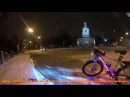 Snow Drift Lada and BMW in Kuzminki Sony Action Cam