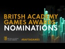 British Academy Games Awards Nominations ✨ | BAFTA Games 2018