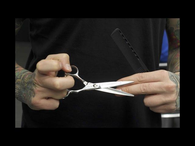 Популярные техники владение парикмахерским инструментам /Мастер класс работы т...