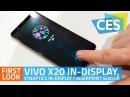 Vivo X20 In Display Synaptics In Display Fingerprint Sensor First Look
