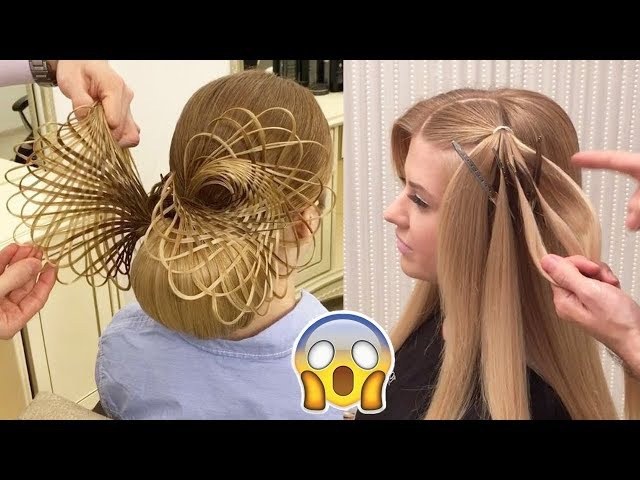 Top 25 Amazing Hair Transformations - Beautiful Hairstyles Compilation 2017