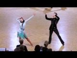 Artyom Liaskovsky - Ksenia Zaputriaeva, ISR ¦ Diamond Cup Antwerp 2018 - WO LAT - SF J