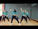 Зажигательный танец в исполнении девчат из гомельской студии SLAM