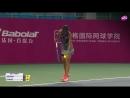 WTA Гуанчжоу • Полуфинал Евгения Родина-Чжэн Шуай.Обзор матча