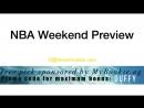 NBA Playoffs Weekend Preview Rockets-Warriors, Cavs-Celtics