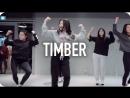 1Million dance studio Timber - Pitbull (ft. Ke$ha)  Beginners Class