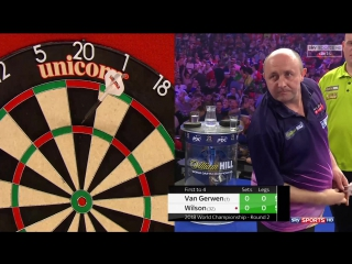 Michael van Gerwen vs James Wilson (PDC World Darts Championship 2018 / Round 2)
