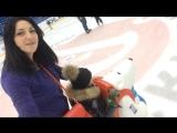 Арменчик в первый раз на коньках